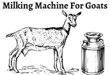 How o find the best milking machine for goats